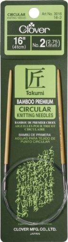 Knit Needle Size - Bamboo Circular Knitting Needles