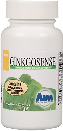 AIM Ginkgo Sense – a high Quality Ginkgo biloba Supplement