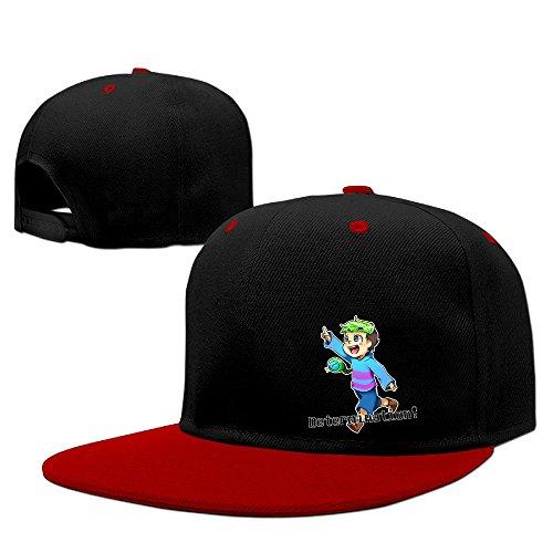[Hip Hop JACKSEPTICEYE Unisex Logo Hat] (Jumbo Hip Hop Adult Hat)