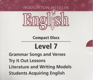 Download 2004 Mifflin English Grade 7 Audio CDs (Grammar SOngs and Verses, Try it our Lessons,Literature and Writing Models, and Student Acquiring English) ebook