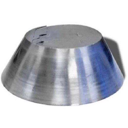 Selkirk Metalbestos 8T-SC 208810 Storm Collar, Pack of 1, galvanized - Storm Inch 4 Collar