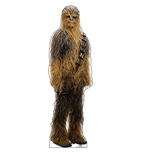 Advanced Graphics Chewbacca Life Size Cardboard Cutout Standup - Star Wars: Episode VIII - The Last Jedi (2017 Film)]()