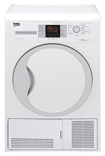 Beko DPU 7306 XE Wärmepumpentrockner / A+++ / 158 kWh/Jahr / 7kg / Weiß / Multifunktionsdisplay / Edelstahltrommel