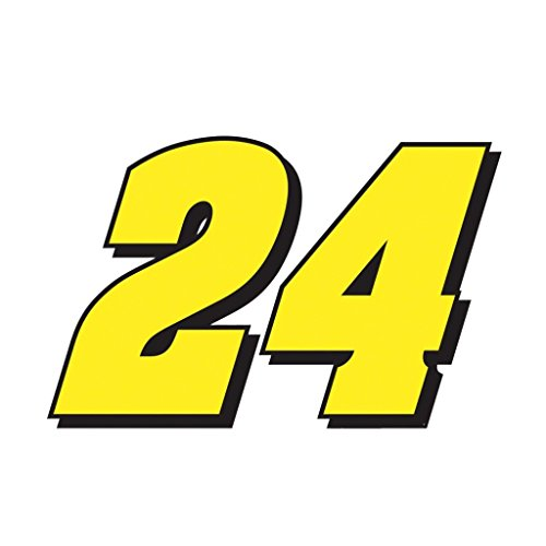 Jeff Gordon 24 CreativeStickers0413 Set Of Two (2x) Stickers , Laptop , Ipad , Car , Truck , Size 4 inches on Longer Side