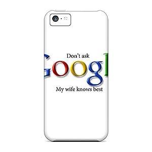 Defender Case For Iphone 5c, Google Pattern