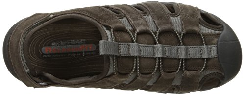 Skechers USA Mens Selmo Fisherman Sandal Braun
