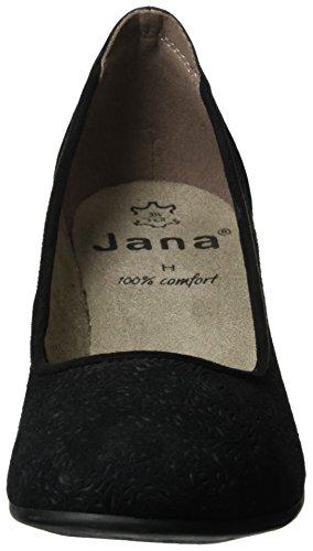 Escarpins Bleu Femme Noir Jana Black 22301 001 5qgwqaTBx