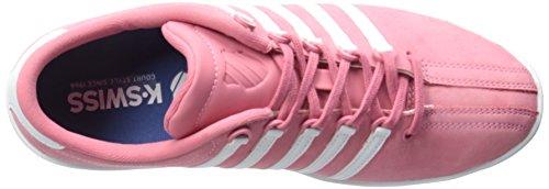 K-Swiss Women's Classic SL P Premium Slim Profile Sneaker, Bubblegum/White, 9 M US