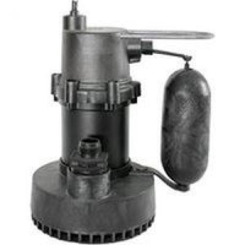 1.25 1/4 HP Snappy John Submersible Sump Pump - Volts / Cord
