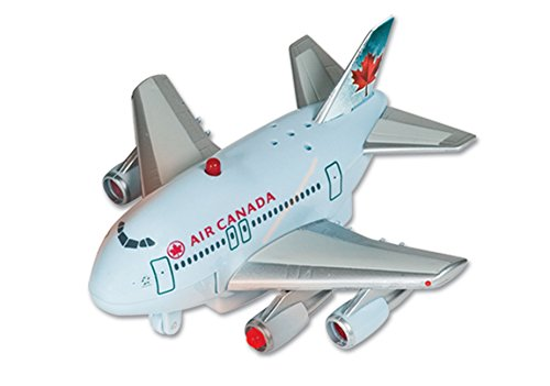 Daron Air Canada Pullback Toy With Light And Sound