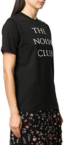 Alexander McQueen Fashion | MCQ Woman 583304ROJ271000 Black Cotton T-Shirt | Spring Summer 20
