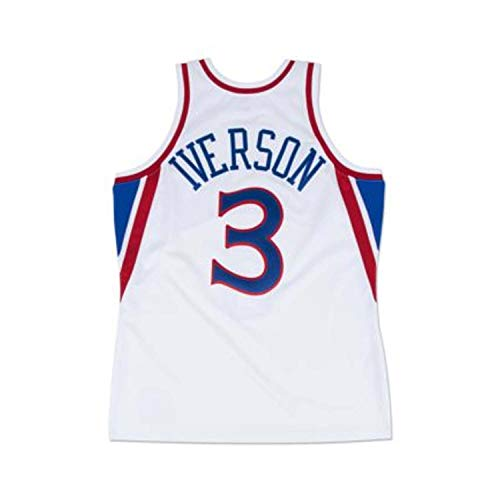 Mitchell & Ness Allen Iverson Philadelphia 76ers Swingman Jersey White (X-Large)