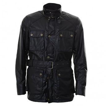 18bf348c9b Belstaff Streetmaster Jacket Black: Amazon.co.uk: Clothing