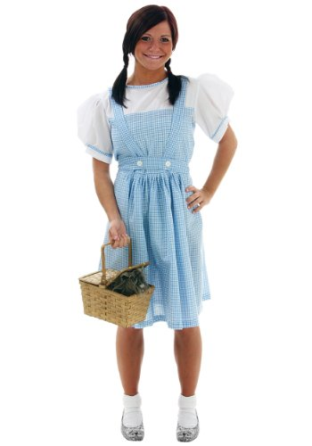 Fun Costumes Womens Dorothy Teen Costume Adult Size 8 (2)