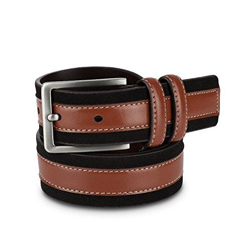 Brown & Black Mens Belt - Men's Belts