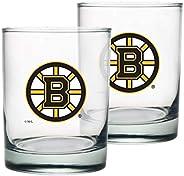 Boston Bruins Rocks Glass Set