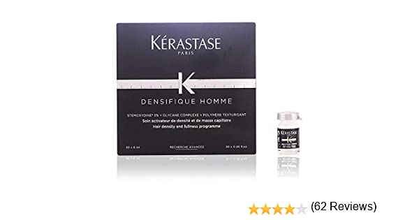 Kerastase Densifique Homme Treatment 30 X - 6 ml: Amazon.es: Belleza