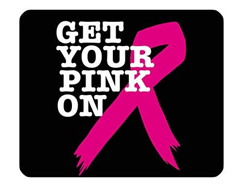 Mouse PAD - Breast Cancer Awareness #SN10 Find Cure Pink Women Survivor