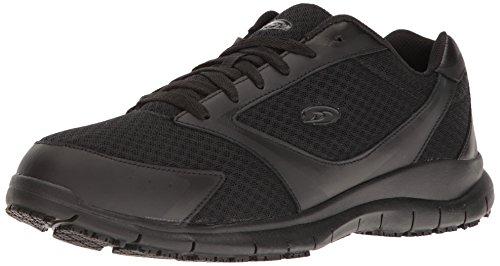 Dr. Scholl's Men's Turbo Work Shoe, Black, 10.5 M US