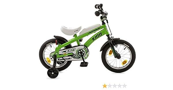 Kawasaki Kidd 511-KW-34 - Bicicleta Infantil, Color Verde y Negro ...