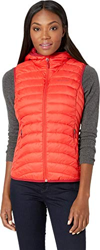Marmot Lightweight Vest - Marmot Women's Bronco Hooded Vest Scarlet Red Small