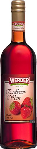 WERDER Erdbeer Wein 0,75 l