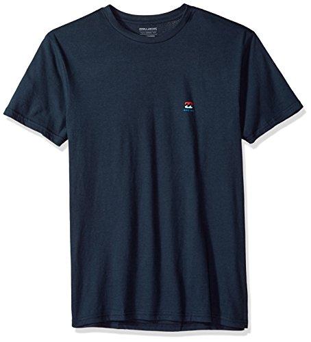 Billabong Men's Free 73 T-Shirt Navy Small