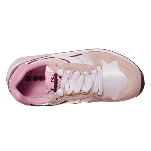 Unisex Diadora 4000 – Peony Basso Sneaker prune A I c Adulto Ii Nyl Silver Collo UqExa1zCUw