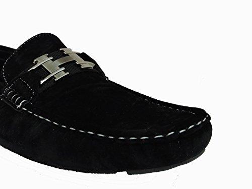 Shoe Artists Wonderful Black Comfort Slip On 4o3DY