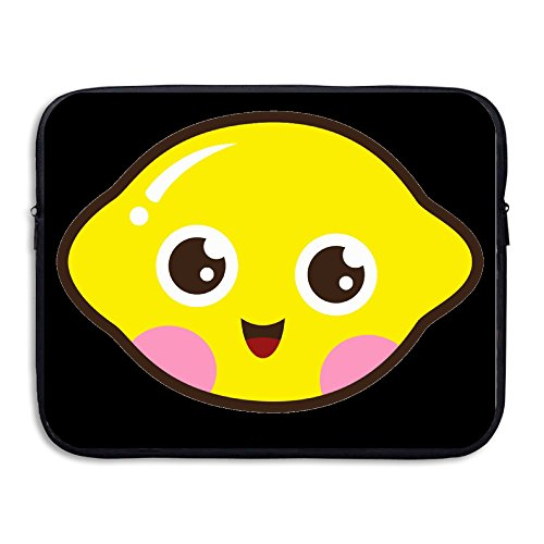 Custom New Design Cute Kawaii Lemon Shock-Resistant Notebook Zipper Cover Bag 13 Inch (Elite Cardigan)