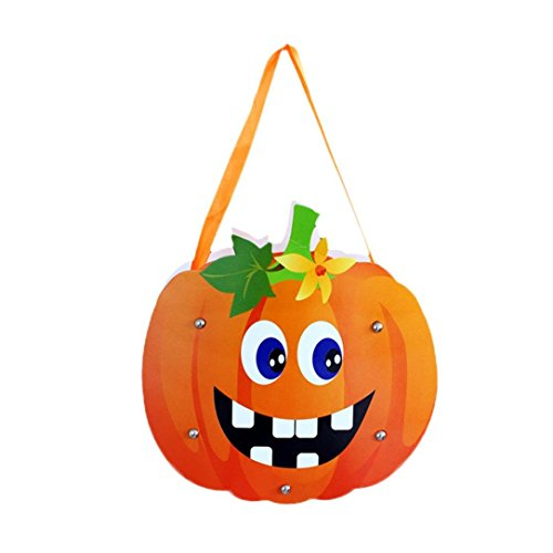 Nadition Halloween Sugar Bag,Cute DIY Paper Candy Bag Package Children Party Storage Bag Of Sugar Gift for -
