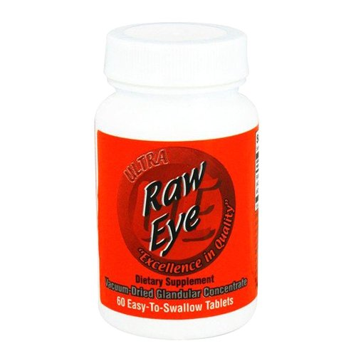 Ultra Raw Eye (Ultra Glandulars Raw Eye Tablets, 60 Count)