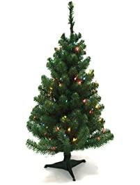 Christmas Trees Amazon Com - Miniature Christmas Trees With Lights