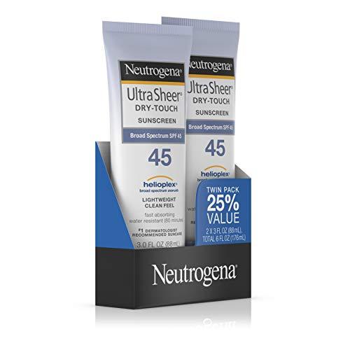 Neutrogena Ultra Sheer Sunscreen