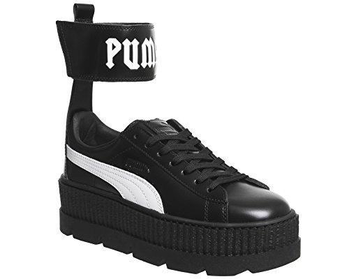 Puma Fenty Ankle Strap Sneakers Black White 9P3CQFgaed