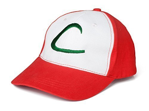 Pokemon ASH Ketchum Visor Cap Cosplay Hat Pocket Monster Anime Collect mp001984 ()
