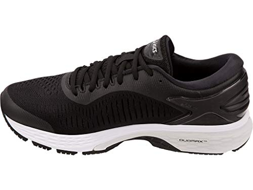 ASICS Gel Kayano 25 Men's Running Shoe, Black/Glacier Grey, 7 D US by ASICS (Image #4)