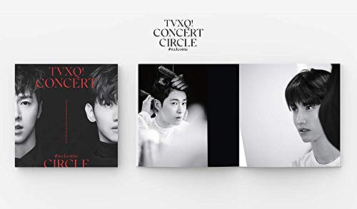 SM Entertainment TVXQ (東方神起) - TVXQ! Concert -Circle- #Welcome DVD 2DVD+Photobook+4Photocard+Folded Poster by SM Entertainment (Image #5)