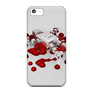 UuP52780Lebr Cases For Iphone 5c With Nice Red Drops Appearance