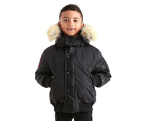 Triple F.A.T. Goose Ovstyn Boys Down Jacket With Real Coyote Fur (7) by Triple F.A.T. Goose