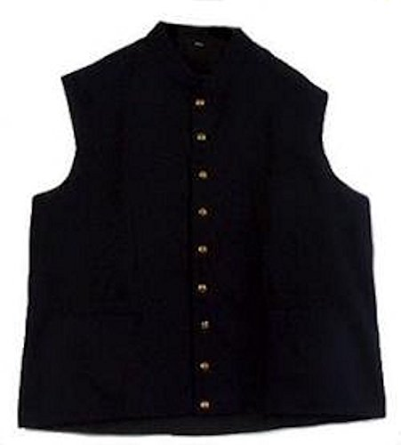 - Civil War U.S. Blue Military Vest (MEDIUM)