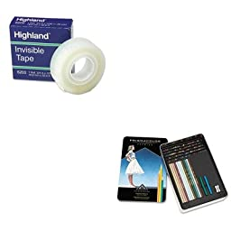 KITMMM6200341296SAN4484 - Value Kit - Prismacolor Drawing amp;amp; Sketching Pencils (SAN4484) and Highland Invisible Permanent Mending Tape (MMM6200341296)