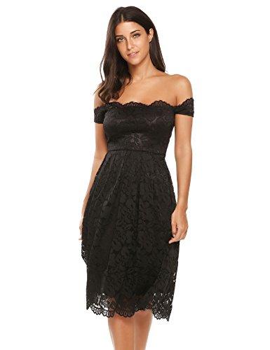 lace 40s style wedding dress - 9