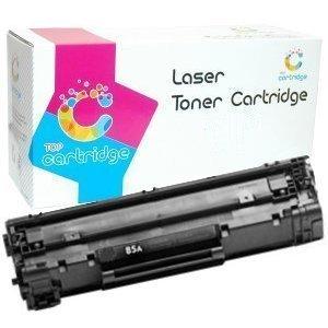 HP CE285A Compatible Cartucho de tóner láser (Negro) para ...