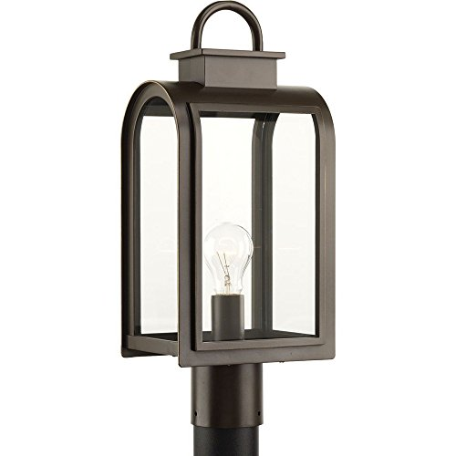 Progress Lighting P6431-108 Traditional/Casual 1-100W Med Post Lantern, Oil Rubbed Bronze