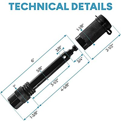 motormic Trailer Hitch Lock - 5/8