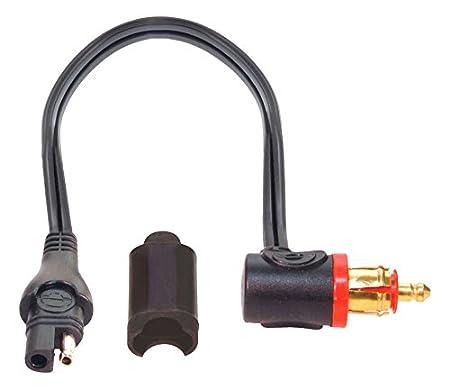 TecMate OptiMATE CABLE O-09, Adattatore-prolunga, spina a 180° da SAE a MOTO, 120 cm (48 pollici) spina a 180° da SAE a MOTO TecMate International SA