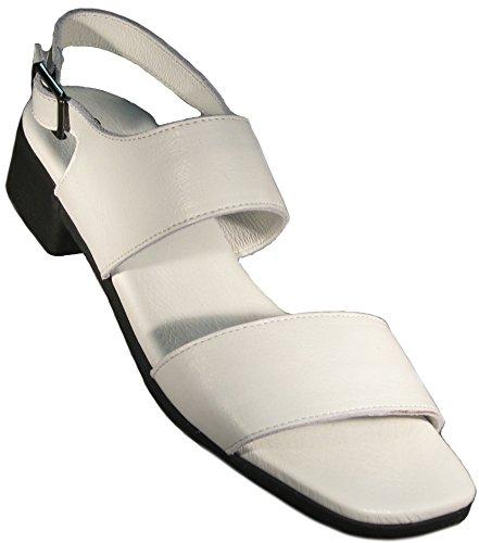 Arche Kvinners Tinaka Sandal I Mykt Blanc (hvit) Skinn
