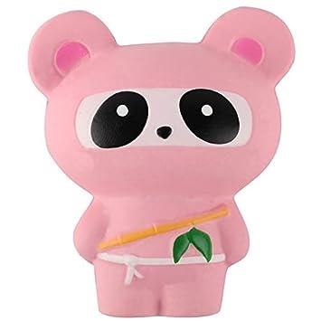 RQWY Toy 14CM Animal Jumbo Kawaii Ninja Panda/Bear/Fox Bread ...