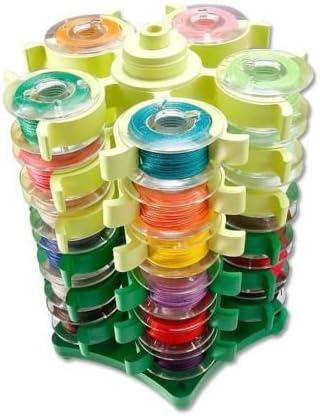 Honeysew Stack N Store Stickerei Spulen Tower Speicher Für 30 Spulen Nähen Quilt Küche Haushalt